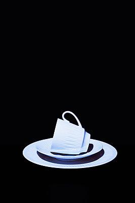 White coffee set - p1149m2031052 by Yvonne Röder