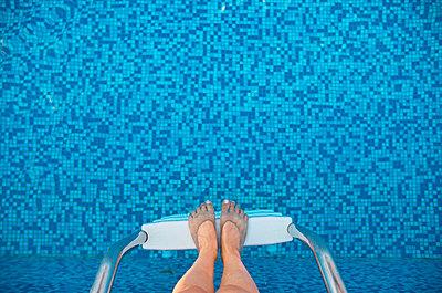 Swim ladder - p5770020 by Mihaela Ninic
