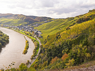 At the river Moselle - p885m865642 by Oliver Brenneisen