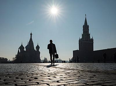 Moskau, Roter Platz in Moskau  - p390m2109348 von Frank Herfort