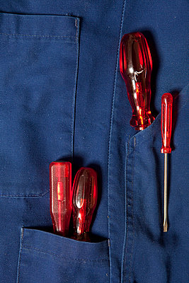 Red screwdriver - p4541028 by Lubitz + Dorner