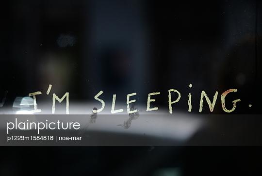 Ich schlafe - p1229m1584818 von noa-mar