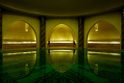 Hammam of Hassan II Mosque - p1189m1221934 by Adnan Arnaout
