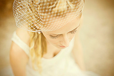 Blonde bride - p5820030 by our labor of love