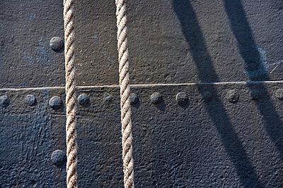 Seile am Schiff - p4880236 von Bias