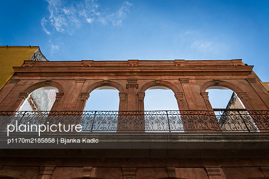 Arches of derelict building - p1170m2185858 by Bjanka Kadic