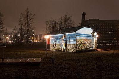 Slideshow at night - p347m1138356 by Georg Kühn
