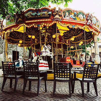 Carousel. Suisse. - p813m1462123 by B.Jaubert