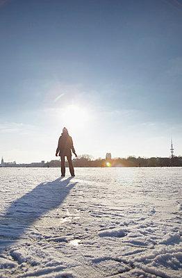 Frozen lake - p4642364 by Elektrons 08