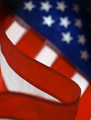 American Flag - p1072m829011 by George Robinson