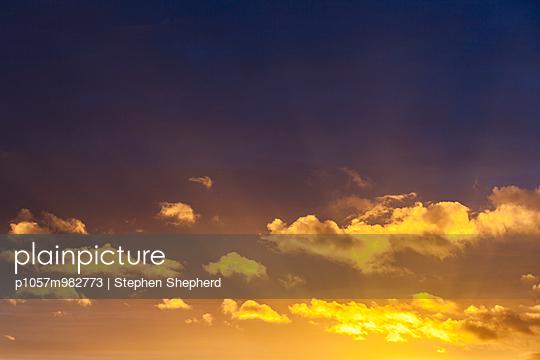 Sonnenuntergang - p1057m982773 von Stephen Shepherd