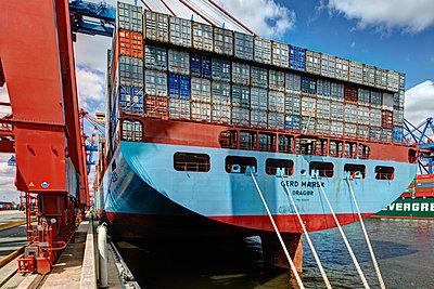 Containerterminal Hamburg - p1099m1515532 von Sabine Vielmo