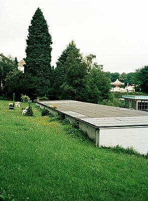Garten mit Kirmes - p1164m951972 von Uwe Schinkel