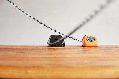 Telefon mit Wählscheibe - p214m1000349 von hasengold