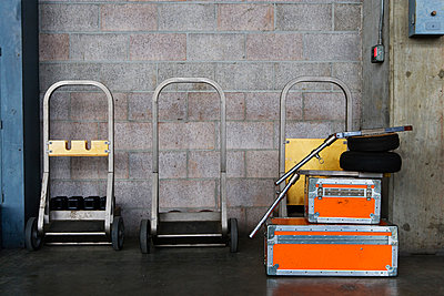Travel cases and hand trucks. - p343m1554717 by Ron Koeberer