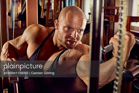Bodybuilding - p1200m1159355 von Carsten Görling