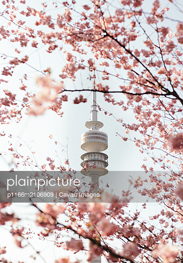 Olympiapark in Munich - p1166m2106909 by Cavan Images