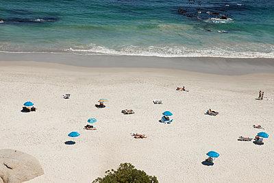 Luftaufnahme vom Strand - p045m1362449 von Jasmin Sander