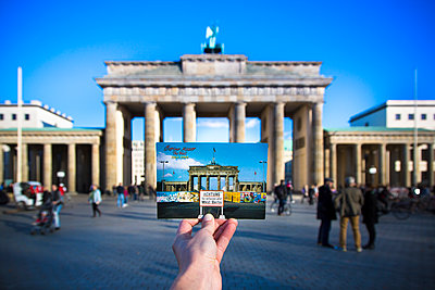 Past and Present, Berlin, Germany - p1062m1172173 by Viviana Falcomer
