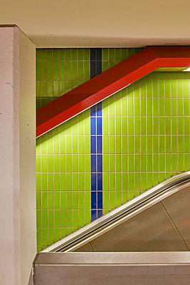 U-Bahn Station - p1119m1424334 von O. Mahlstedt