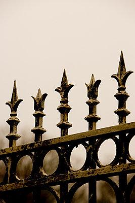 Schlosstor Eisenspitzen - p2480765 von BY