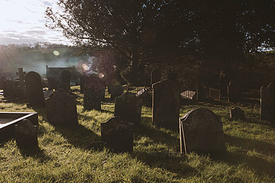 Rural graveyard - p1047m1071885 by Sally Mundy