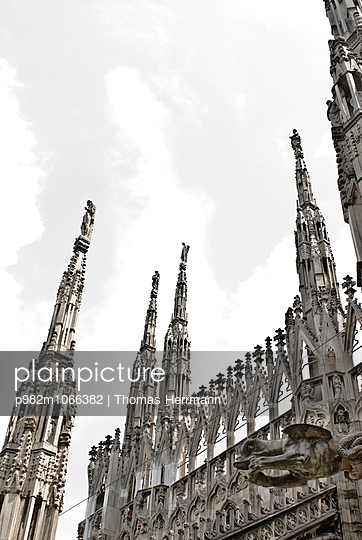 Cathedral of Milano - p982m1066382 by Thomas Herrmann