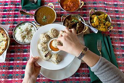 Restaurant, Nepalese cuisine - p1106m2151447 by Angela DeCenzo