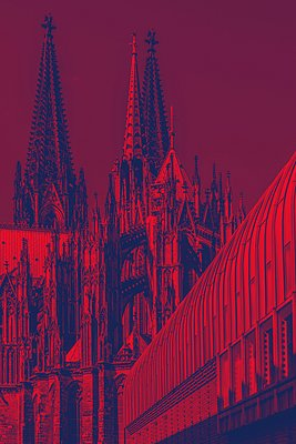 Kölner Dom - p401m2284137 von Frank Baquet