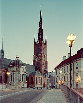 Die Kirche Riddarholmen  - p972m1136654 von Felix Odell