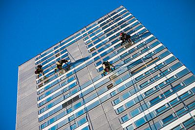 Fensterputzer - p1418m1572502 von Jan Håkan Dahlström
