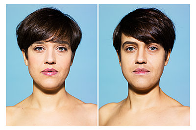 Portrait photograph, Transgender - p1462m1538485 by Massimo Giovannini