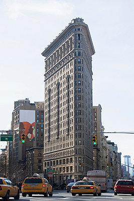 Flatiron Building in New York City - p924m768367f by Ditto