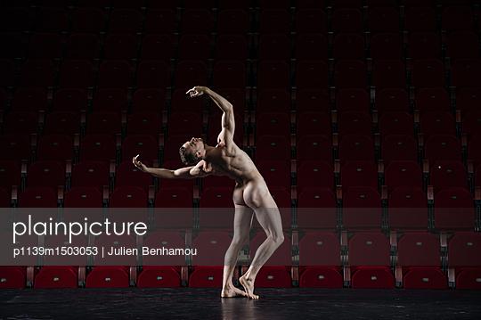 Naked male dancer - p1139m1503053 by Julien Benhamou