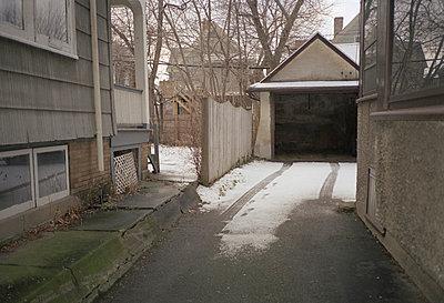 green garage - p5670512 by Jesse Untracht-Oakner
