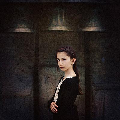 Ernstes Mädchen - p1432m1496469 von Svetlana Bekyarova