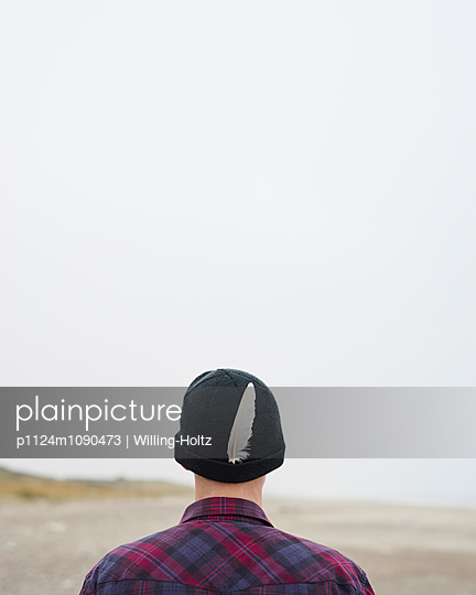 Indianer am Strand - p1124m1090473 von Willing-Holtz
