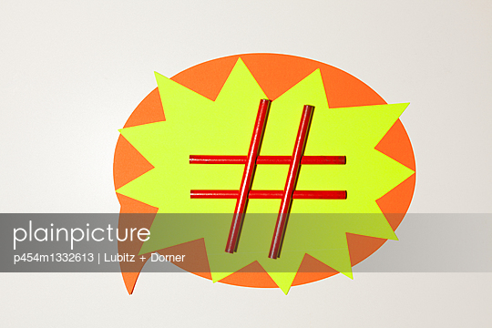 Hashtag - p454m1332613 by Lubitz + Dorner