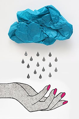 Raindrops - p450m1537967 by Hanka Steidle