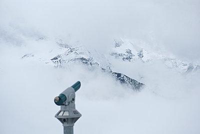 Heute keine gut Fernsicht in den Alpen - p533m1525236 von Böhm Monika