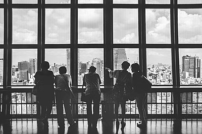 View from Tokyo Tower - p1126m1200757 by Tina Sturzenegger