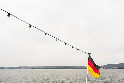German Flag - p1177m1083618 by Philip Frowein
