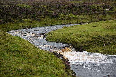 River on Skye - p445m931961 by Marie Docher