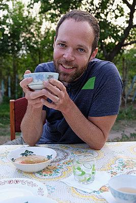 Garden Lunch - p759m1207297 von Stefan Zahm