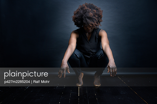 African woman - p427m2285204 by Ralf Mohr