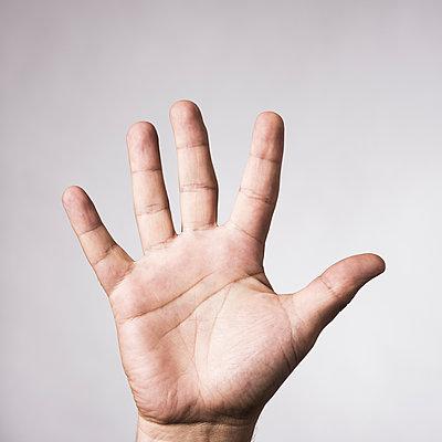 5 Finger - p220m1466453 von Kai Jabs