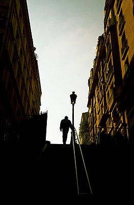 Schatten in Montmarte - p4320282 von mia takahara