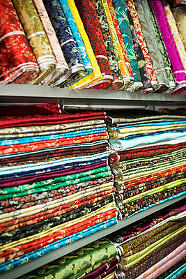 Textiles in shanghai market - p9246159f by Image Source