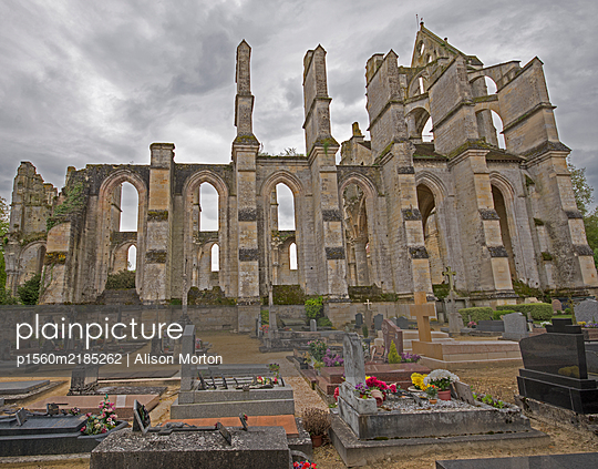 Abbaye Notre-Dame de Longpont, Cistercian monastery - p1560m2185262 by Alison Morton