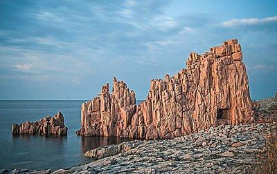 Rock formations, Arbatax, Sardinia, Italy - p429m1047123 by ROBERTO PERI